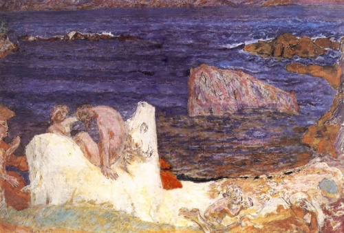 Bonnard Pierre, Enlèvement d'Europe, 1919, Toledo museum of Art.jpg