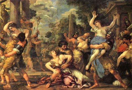 Pierre de Cortone, Enlèvement des Sabines